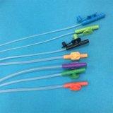 El suministro médico Ce/ISO certificó la cánula esterilizada de la succión del PVC del catéter de la succión
