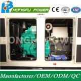 200kw 250kVA Cummins schalten Dieselgenerator mit schalldichtem mit der Wasserkühlung an