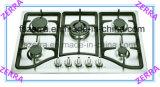 Bruciatore 5 costruito nell'uso della fresa del gas per la cucina di sostegno della vaschetta del ghisa (JZS75003)