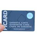 A adesão de plástico de tamanho standard Cartão de PVC