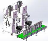 De populaire Pneumatische Concrete Machine van de Verpakking van de Zak van de Klep van 5-50 Kg