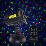 Беспроводной пульт ДУ Рождество лазера/RGB сад лазерной печати