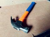 Молоток с раздвоенным хвостом с ручкой стеклоткани и хорошим ценой