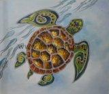 Оптовая торговля ручной работы - Turtoise репродукции настенные картины маслом для интерьера