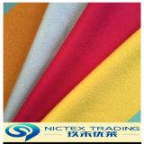 Ткань щетки шерстей, почищенная щеткой обыкновенная толком ткань шерстей цвета