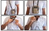 أمان سفر عنق كيس جواز سفر حامل محفظة مع [رفيد] يسدّ