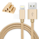 1m 2m 3m Nylon-USB-Kabel-schnelles aufladendaten-Kabel für Android