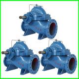 Pompe centrifuge de cas d'aspiration élevée fendue du flux deux