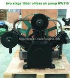 고압 피스톤 기름 자유 대기 펌프 (2X110+1X90))