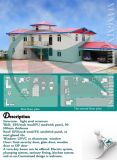 住宅建築またはオフィスのための低価格ライト鉄骨構造フレームのプレハブモジュラー家