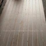 9-25mm ranurado/ranurado de contrachapado de madera de pino para la decoración de madera contrachapada comercial