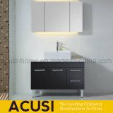 Module de salle de bains moderne de noir de contre-plaqué de type américain avec les pattes (ACS1-L66)