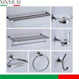 L'accessoire matériel de chrome en laiton a placé pour la salle de bains Using