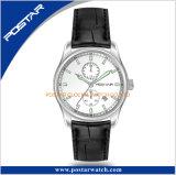 Bw9極度の明るい手及び指標の新しい二重時間の水晶腕時計