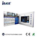 4.3 tarjeta video del nombre comercial de la pulgada TFT LCD con la resolución de la visualización 480*272