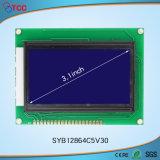 3.1 Pulgadas de 128x64c5V30 de la pantalla LCD COB