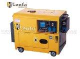 5kVA無声タイプ携帯用三相ディーゼル発電機は広く使用する