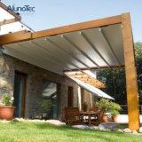 بناء سقف علبيّة قابل للانكماش يطوي ظلة