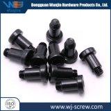 No Estándar OEM de cabeza redonda negra personalizada pasos controladores hexagonal tornillos con pivote