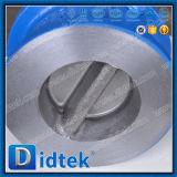 Didtek API 6D 16pulgadas Wcb placa doble válvula de retención de la oblea