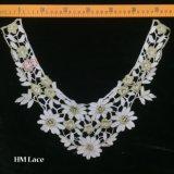 ожерелье вязания крючком 37*30cm, ворот Петер Пан верблюда, отделяемый ворот, ювелирные изделия вязания крючком, вспомогательное оборудование Hme952 женщин