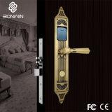 Euro Hotel Cylnder eléctrico do tipo de fechadura do puxador da porta com função de alarme