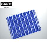 Hairise 100 de plástico de alta qualidade Lave o Transportador de Correia Modular de Grade