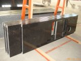 Parte superiore/controsoffitti neri di vanità della pietra del granito per la cucina o la stanza da bagno