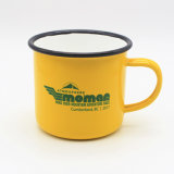 Оптовая продажа чашки олова металла печатание логоса кружки кофеего эмали 2017 таможен выпивая