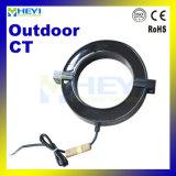 Transformateur de courant imperméable à l'eau extérieur de faisceau fendu de série pour le détecteur de courant de Heyi