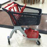 Nouveaux produits tous des prix bon marché chariot en plastique de chariot à achats de supermarché avec la qualité