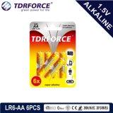 La Chine usine Ultra avec pile alcaline cadeaux promotionnels Torch 24pcs (LR6/AA) 5 ans Durée de vie