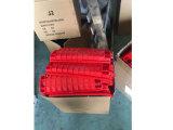 Pièce jointe de joint de fibre de couleur rouge de Madidi de 48 faisceaux