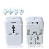 Noir/Blanc World Travel chargeur USB universel adaptateur prise USB