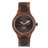 Minimalista ver hombres 2018 Watch OEM Custom propia marca de reloj de madera de bambú Men's Watch