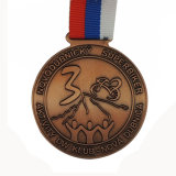 Zoll-1. 2. 3. Metallsuperfahrrad-Konkurrenz-Preis-Medaille