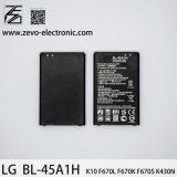 Batterie neuve initiale Bl-45A1h de la batterie 100% de téléphone mobile pour l'atterrisseur K10 F670L
