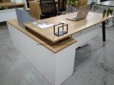 파일 캐비넷 사무용 가구 테이블을%s 가진 강철 다리 사무실 책상