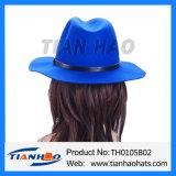 Breiter Randfedora-Hut für Frauen und Männer