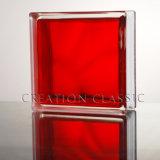 blocchetto di vetro libero/colorato di 190*190*80mm per la parete per decorativo con Ce, ccc