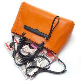 [2بكس] [هيغقوليتي] سيادات حقيبة يد [بو] جلد نساء عمل حمل مخزن كبّل حقيبة مع محفظة ([ودل0723])