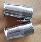Acoplador de manguito rápido sanitario de la instalación de tuberías de acero inoxidable del buen grado