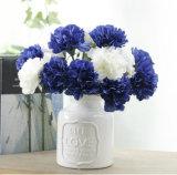 Garofani artificiali/fiore di seta all'ingrosso del garofano per la casa, cerimonia nuziale, decorazione del partito