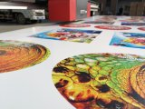 Grosses Format-lederne Beutel-Drucker-Digital MDF-Blatt-UVdrucker mit dem 16 Farben-Drucken