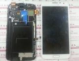 Экран касания LCD на примечание 2 галактики Samsung