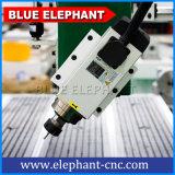 Macchina funzionante di legno del router di CNC dell'elefante 1325 blu