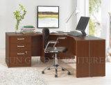 Moderner Entwurf mit hölzernem Bücherschrank-leitende Stellung-Schreibtisch (SZ-OD200)