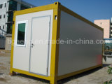 중국에 있는 2층 콘테이너 집 또는 모듈 콘테이너 건물 또는 사무실 콘테이너