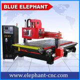1530 ranurador del CNC del Atc del carrusel, media automáticos que introducen/sistema del balanceo, máquina del CNC para la venta