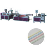 Grau alimentício máquina de extrusão de palha potável tricolor